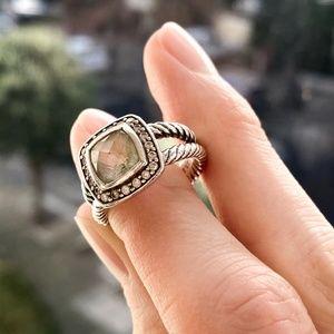David Yurman Jewelry - David Yurman | Petite Albion® Ring with Prasiolite